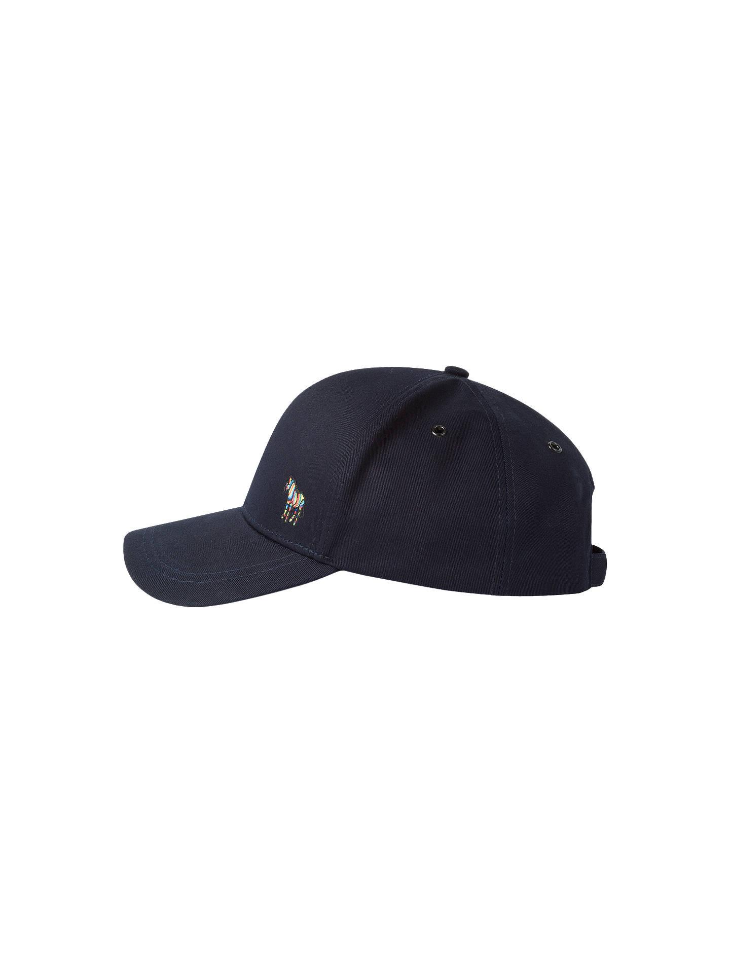 bcf74857a1cd14 Buy Paul Smith Zebra Baseball Cap, One Size, Navy Online at johnlewis.com  ...