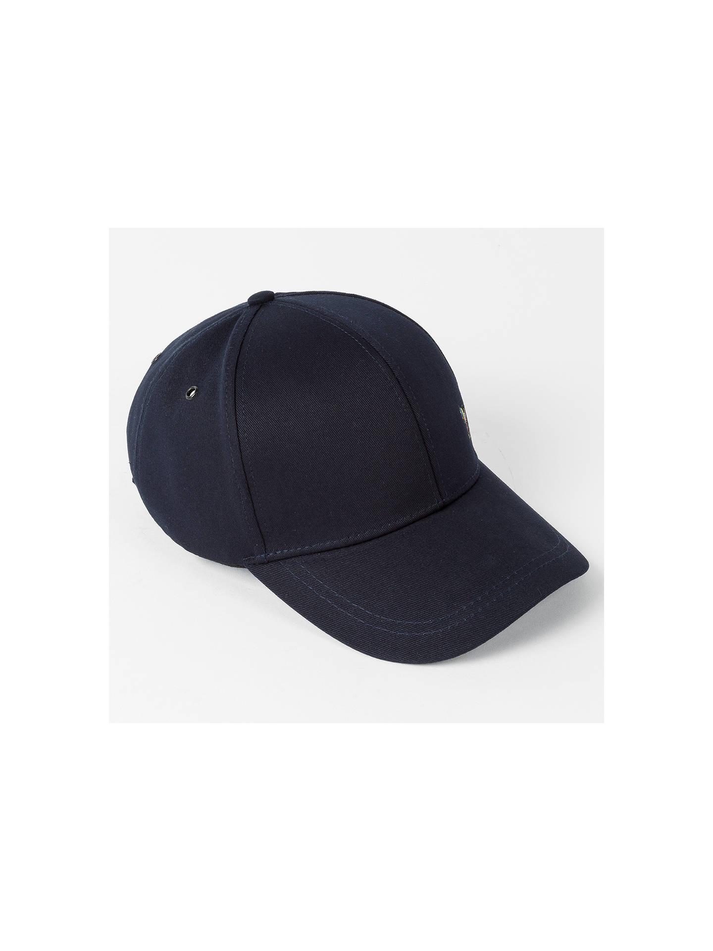 4a9db2e3713ba0 ... Buy Paul Smith Zebra Baseball Cap, One Size, Navy Online at  johnlewis.com ...