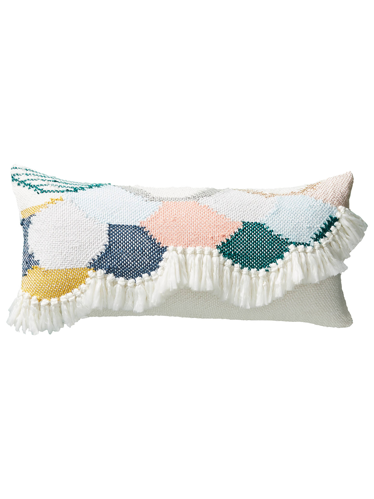Buy Anthropologie Lindsay Campbell Cushion, Ivory Online at johnlewis.com