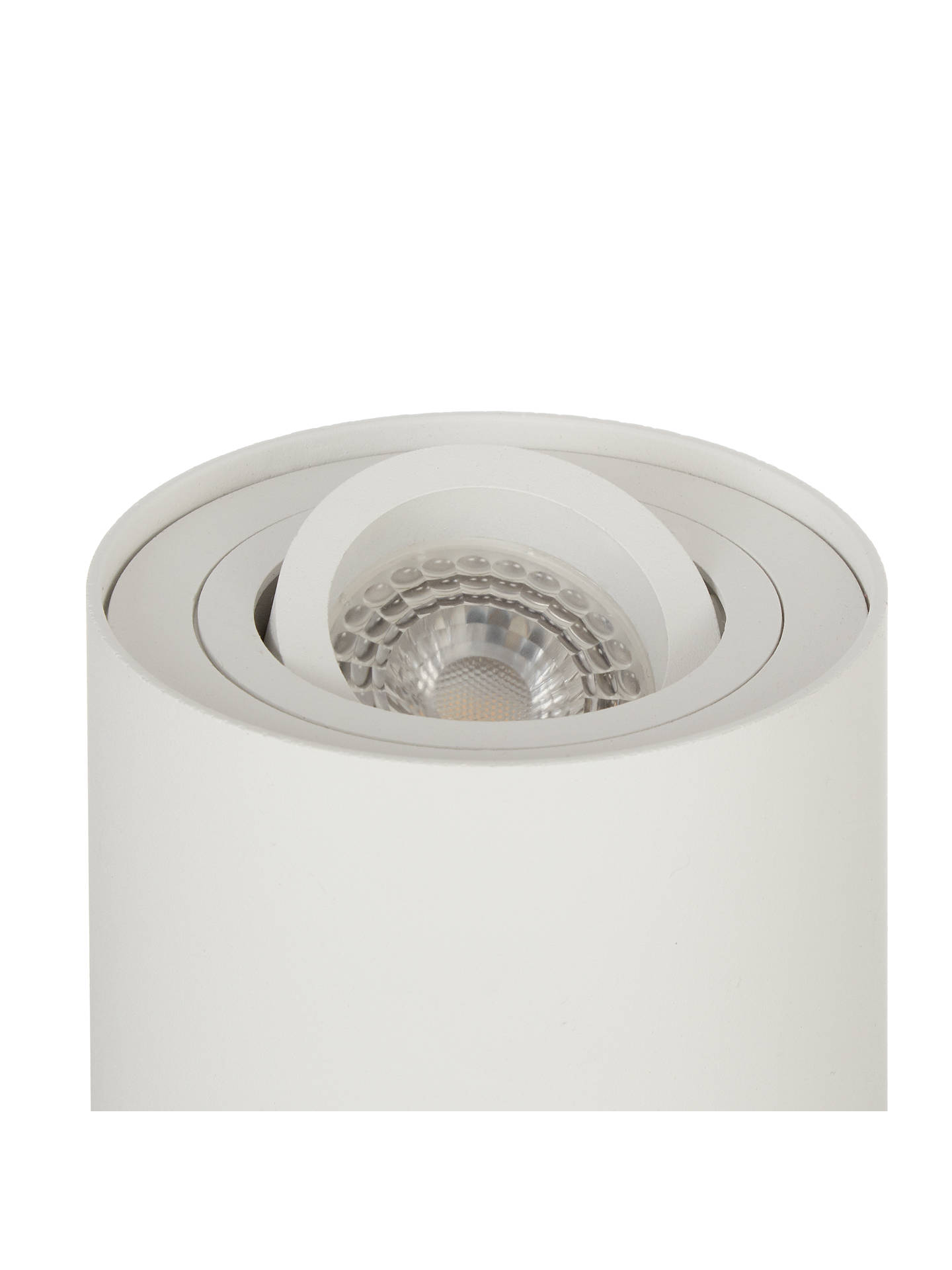 BuyJohn Lewis & Partners Pitch Tilt LED Uplighter Table Lamp, White Online at johnlewis.com