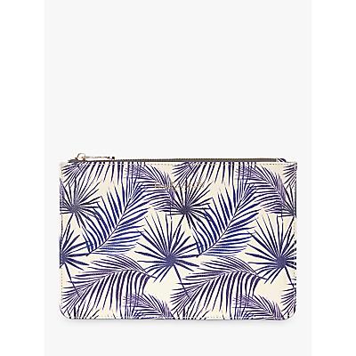 Fenella Smith Palm Pouch, Blue