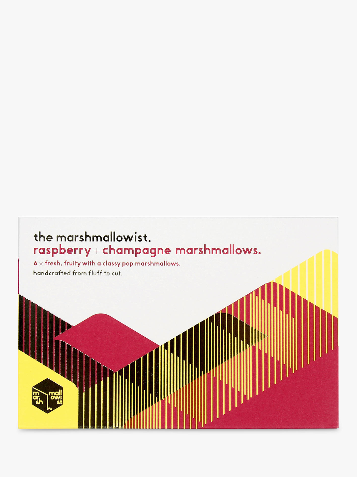 Buy The Marshmallowist Raspberry & Champagne Marshmallows, 120g Online at johnlewis.com