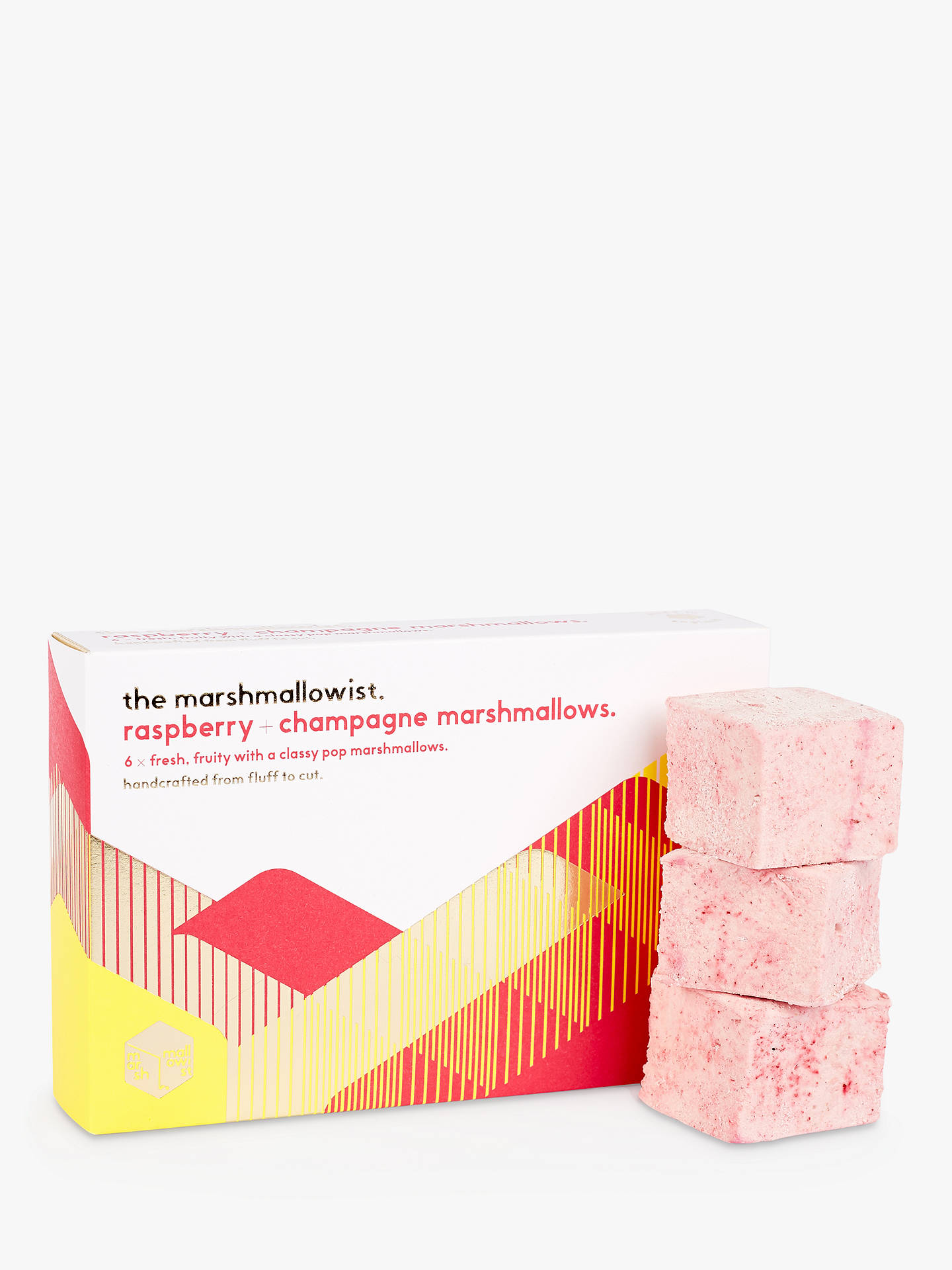 BuyThe Marshmallowist Raspberry & Champagne Marshmallows, 120g Online at johnlewis.com