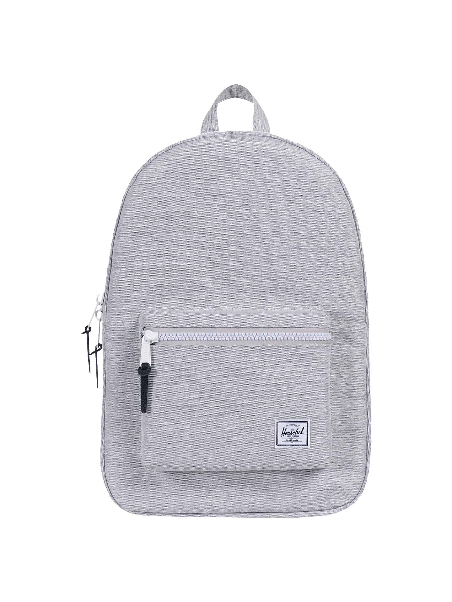 d0b54df468b BuyHerschel Supply Co. Settlement Backpack, Light Grey Online at  johnlewis.com ...