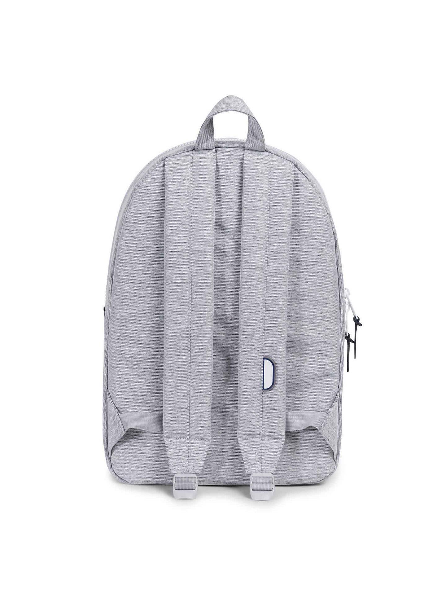 a6bfea1def2 ... BuyHerschel Supply Co. Settlement Backpack, Light Grey Online at  johnlewis.com