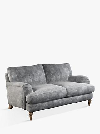John Lewis & Partners Otley Medium 2 Seater Sofa, Light Leg, Victoria Gunmetal