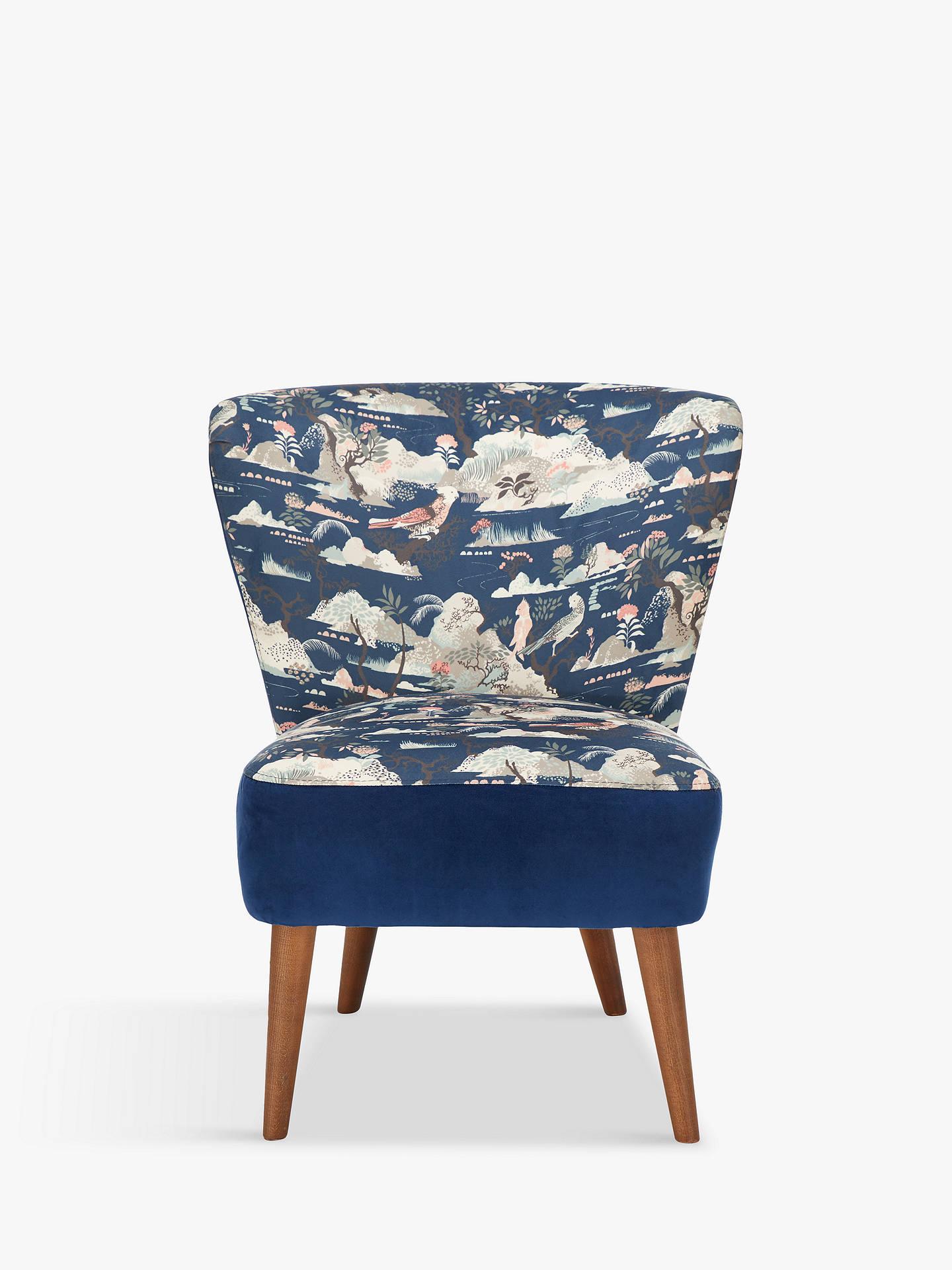 Superb John Lewis Partners Audrey Accent Chair Dark Leg Haku Print Forskolin Free Trial Chair Design Images Forskolin Free Trialorg