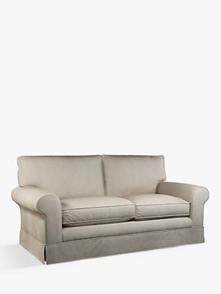 John Lewis & Partners Padstow Large 3 Seater Sofa, Bracken Natural