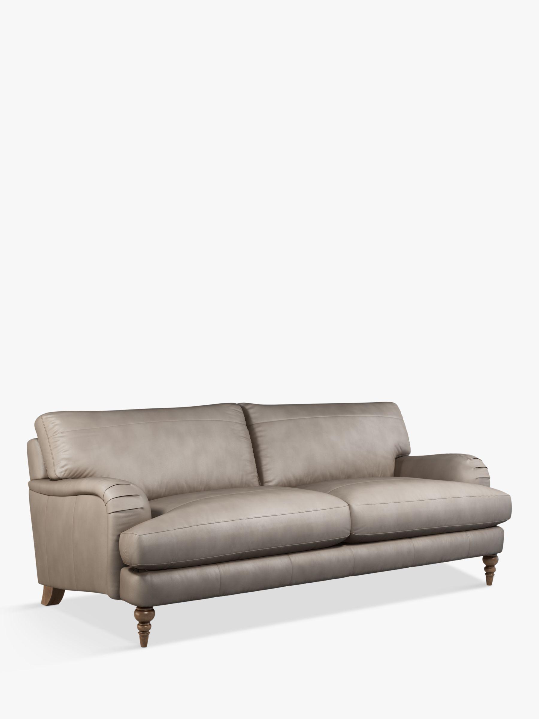 John Lewis & Partners Otley Grand 4 Seater Leather Sofa