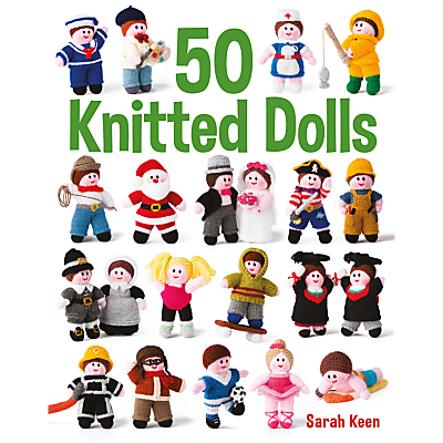 Image of GMC 50 Knitted Dolls Book by Sarah Keen