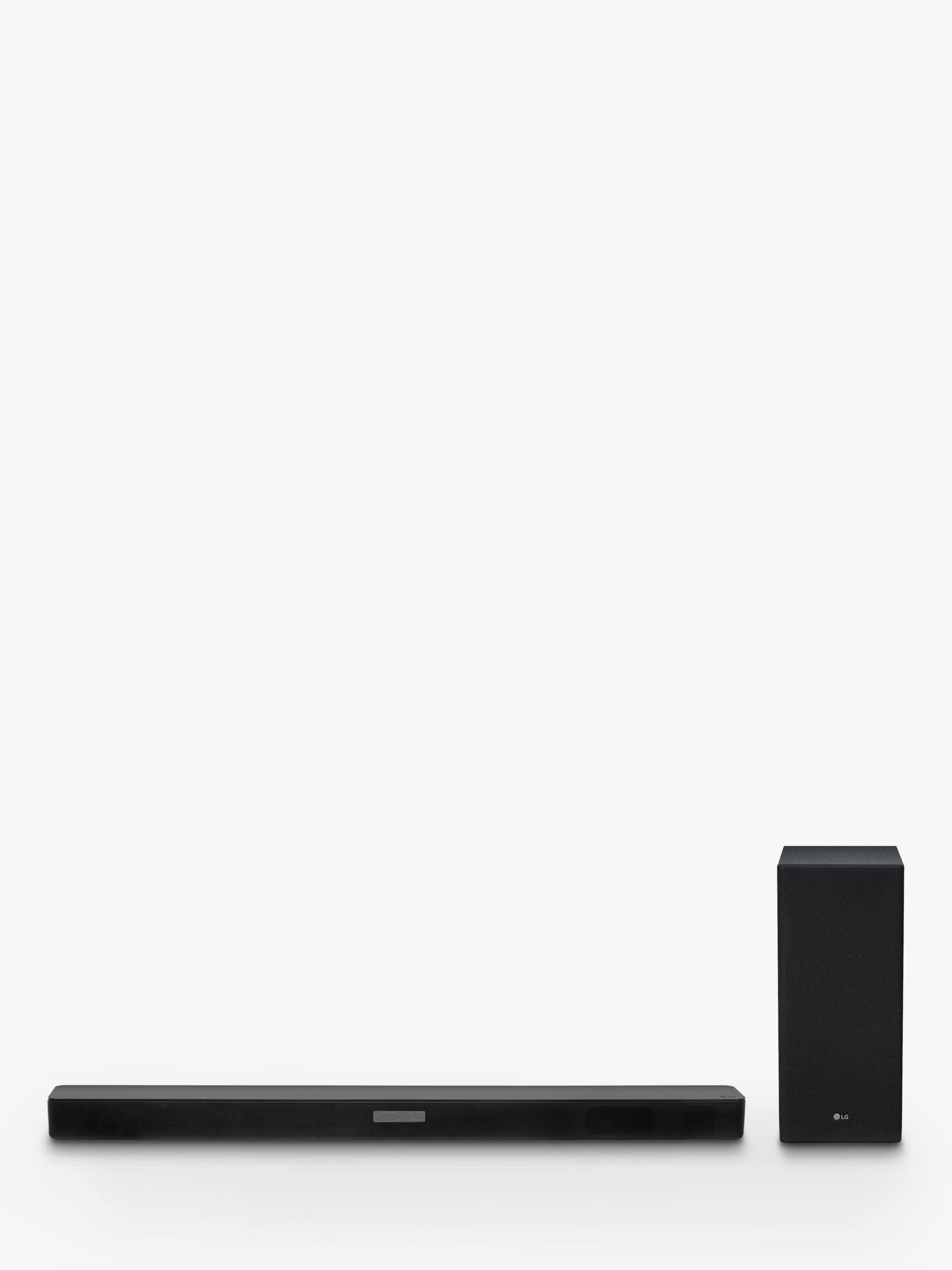 LG SK5 Bluetooth Sound Bar with Wireless Subwoofer & High Resolution Audio, Black