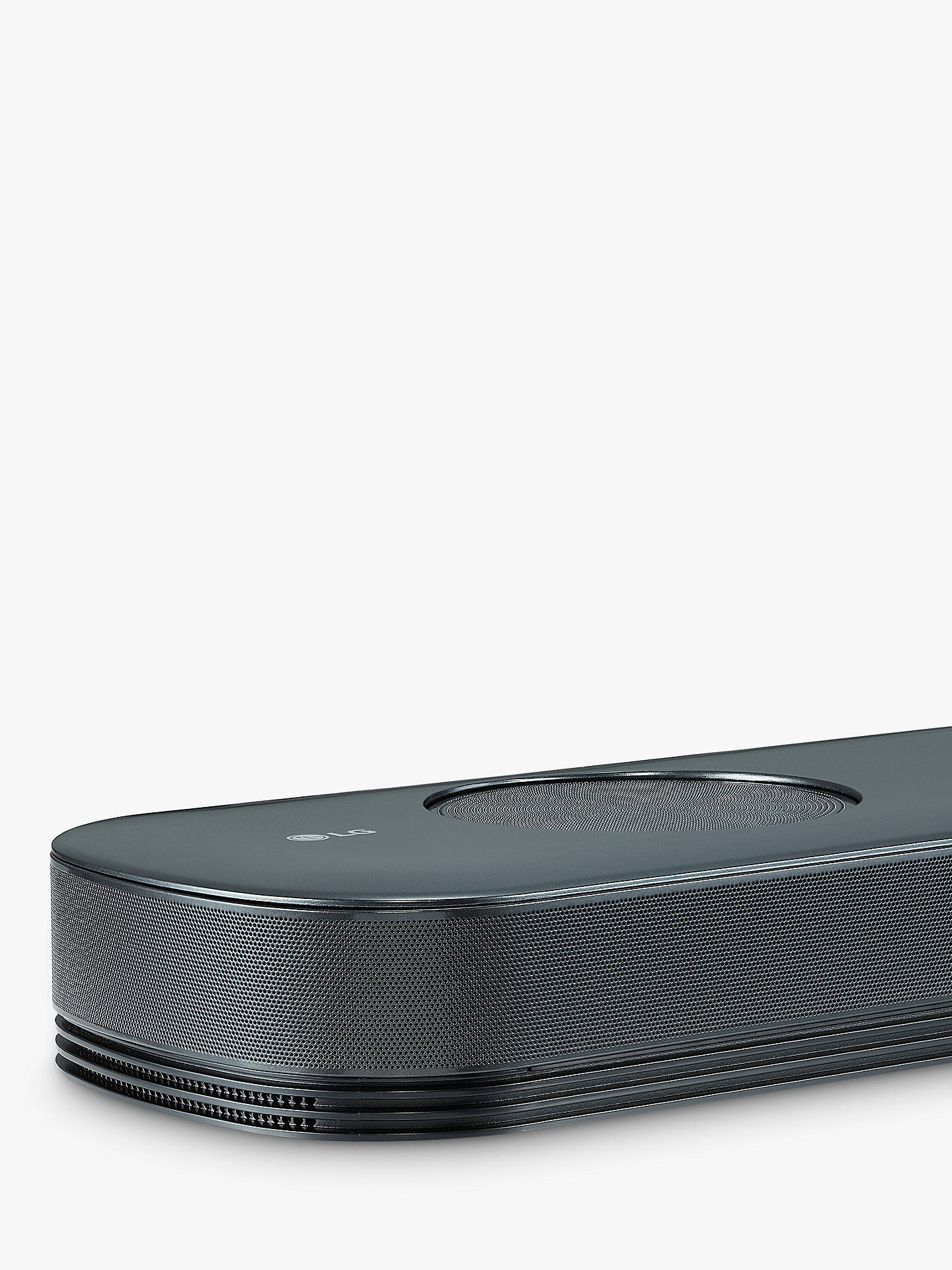 BuyLG SK9Y Wi-Fi Bluetooth Sound Bar with Wireless Subwoofer, Dolby Atmos, High Resolution Audio & Chromecast Built-in, Black Online at johnlewis.com