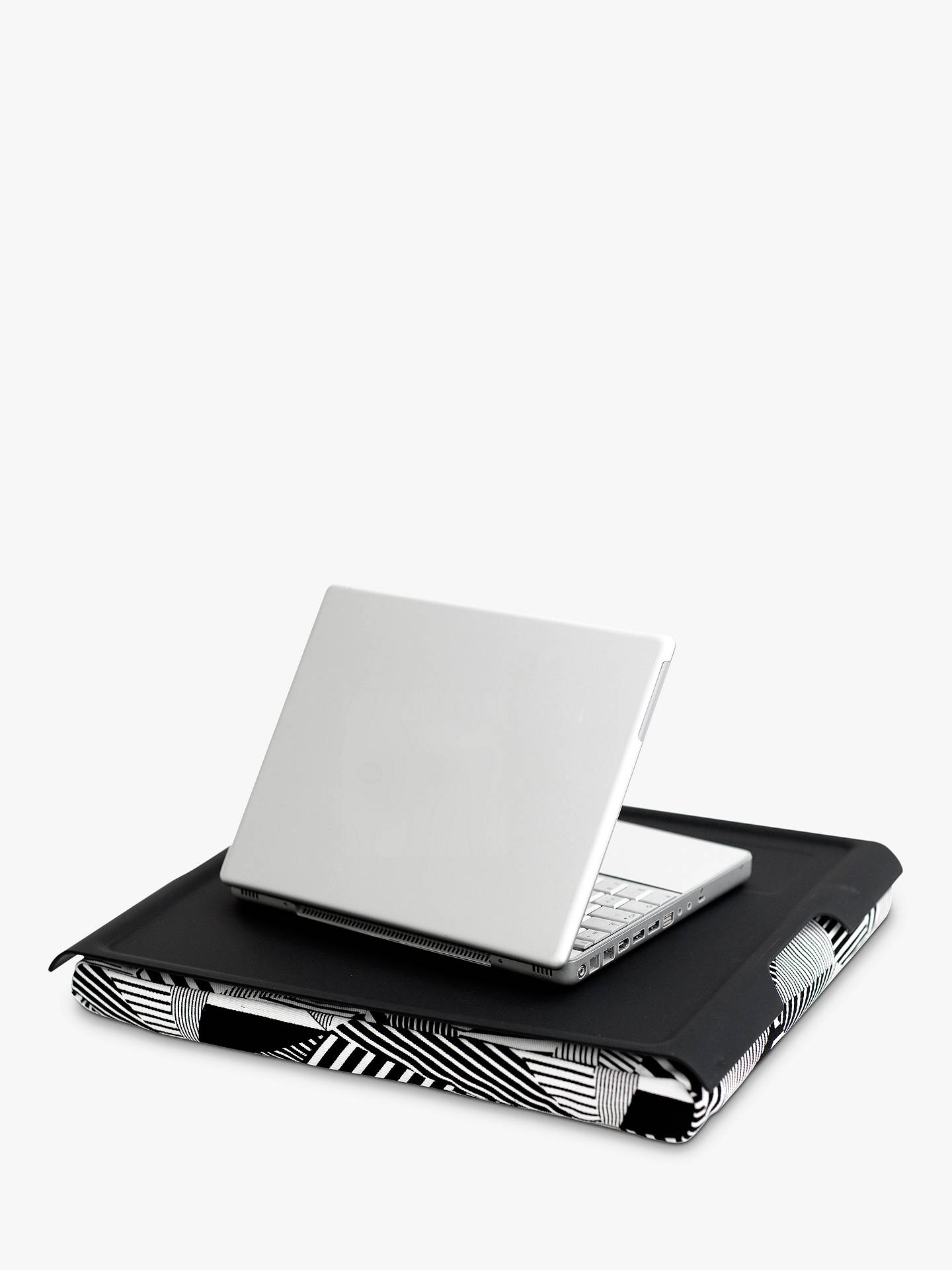 Buy Bosign Monochrome Lap Tray, Black/White Online at johnlewis.com