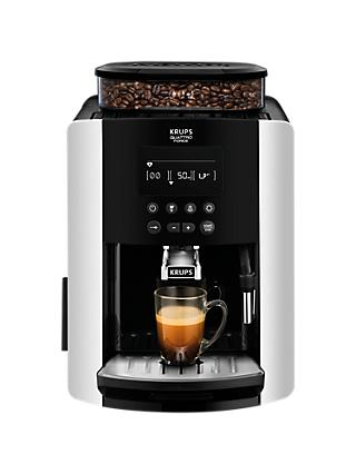 KRUPS EA817840 Arabica Digital Bean-to-cup Coffee Machine, Silver