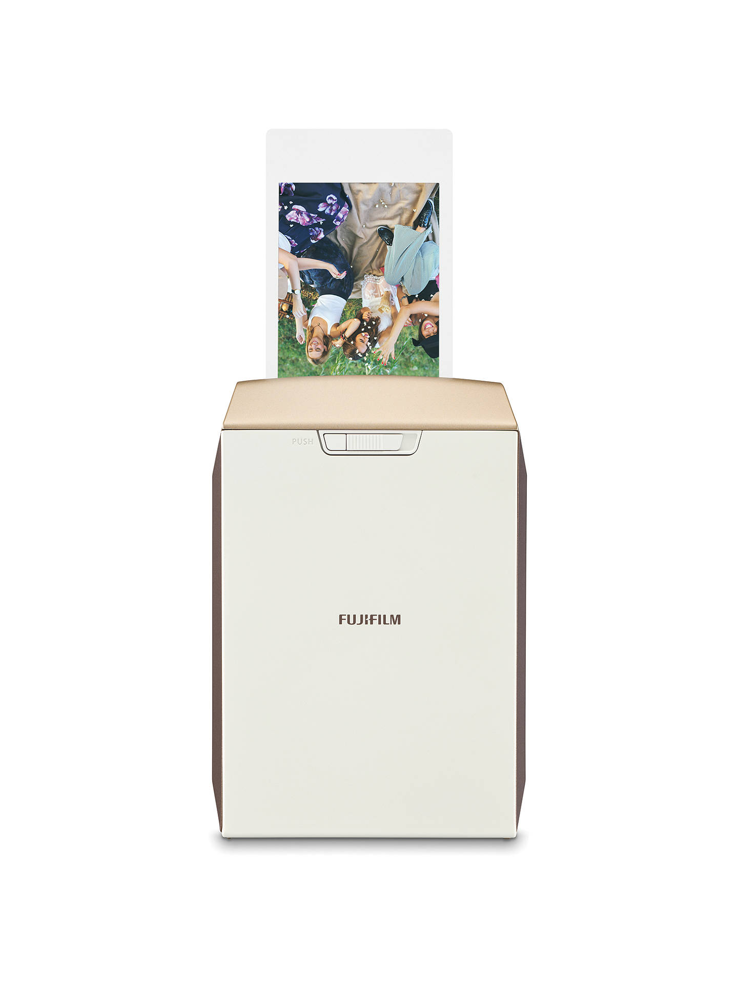 Buy Fujifilm Instax Share SP-2 Mobile Photo Printer with 10 Shots, Gold Online at johnlewis.com
