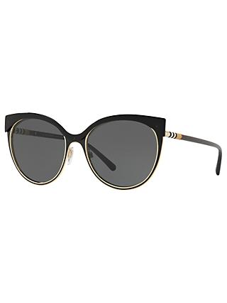 adbabe416307 Burberry BE3096 Women s Cat s Eye Sunglasses