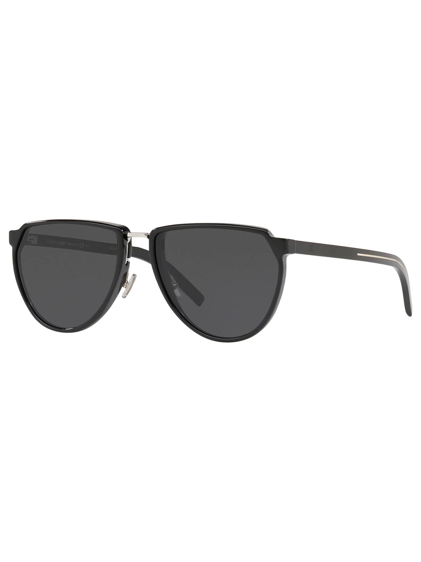 932c9b354351e Buy Dior Men s BlackTie248S Oval Sunglasses