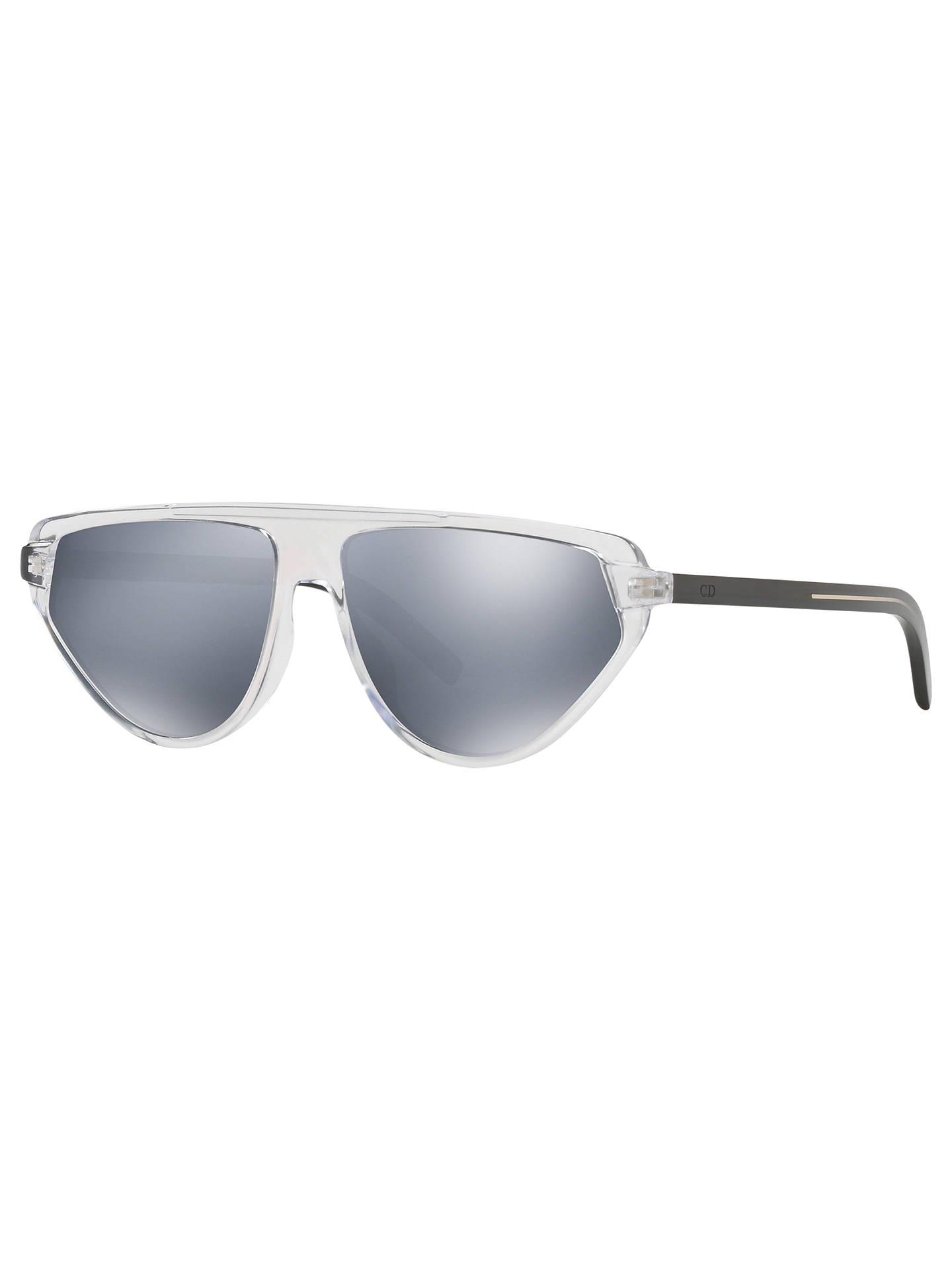 357594ffa972 Buy Dior BlackTie247S Men's Aviator Sunglasses, Clear/Mirror Grey Online at  johnlewis. ...