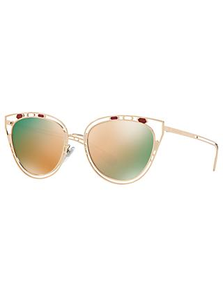 BVLGARI BV6104 Women's Cat's Eyes Sunglasses