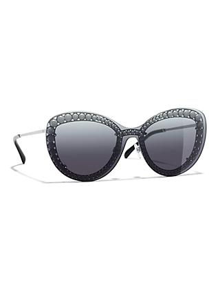 a2ff955df2f CHANEL Butterfly Sunglasses CH4236H Gunmetal