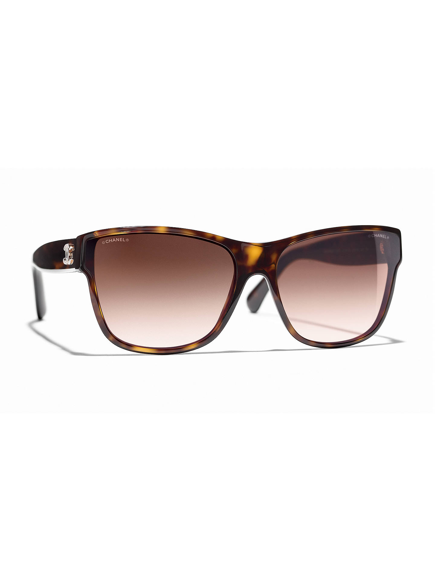 525432a2a13 BuyCHANEL Butterfly Sunglasses CH5386 Tortoise Brown Gradient Online at  johnlewis.com ...