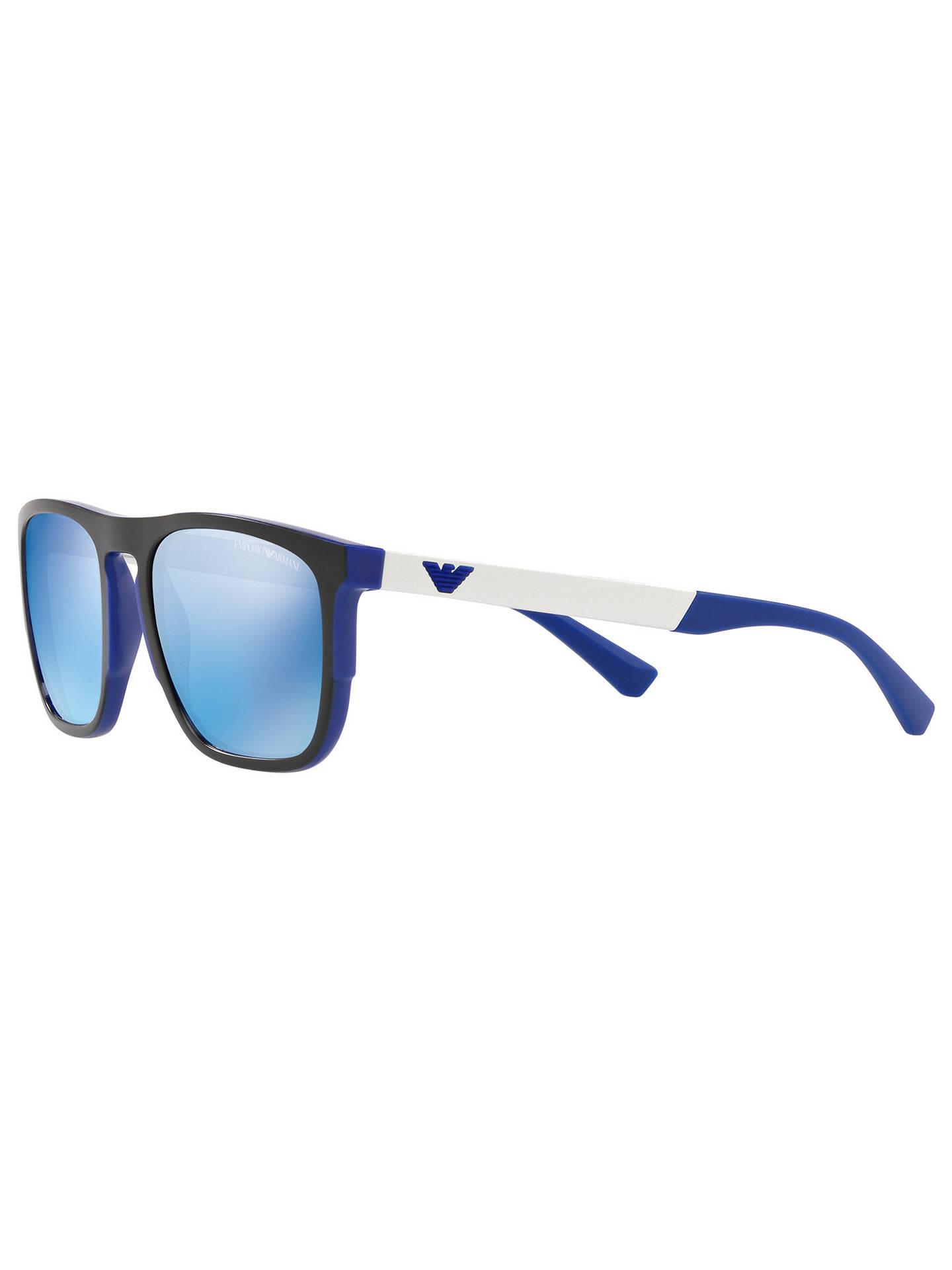 24bcf4e6d68 Emporio Armani EA4114 Men s Square Sunglasses at John Lewis   Partners