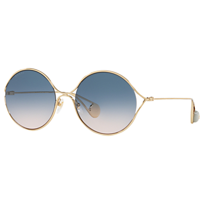 Gucci GG0253 Women's Round Sunglasses