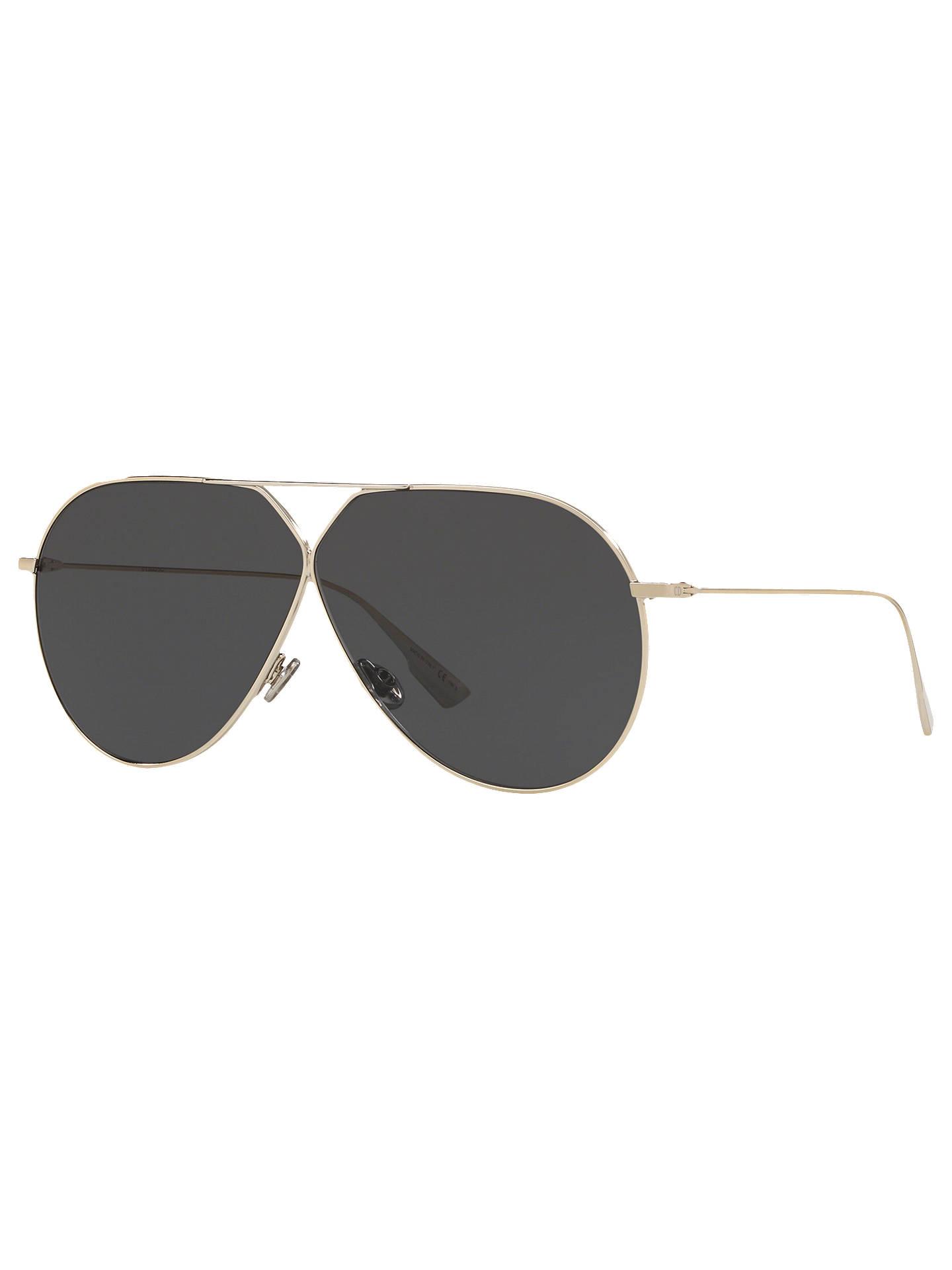 f7d524e63a30 Buy Dior DiorStellaire3 Women's Aviator Sunglasses, Gold/Gunmetal Online at  johnlewis. ...