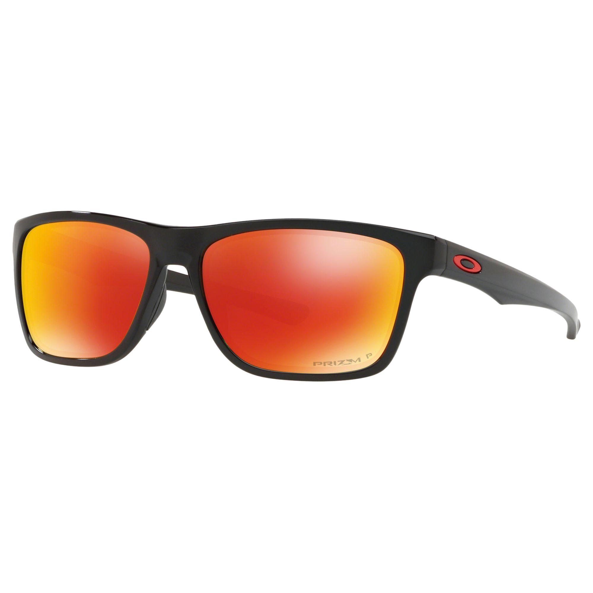 eb0aa45f4e Oakley OO9334 Men s Holston Prizm Polarised Square Sunglasses at John Lewis    Partners