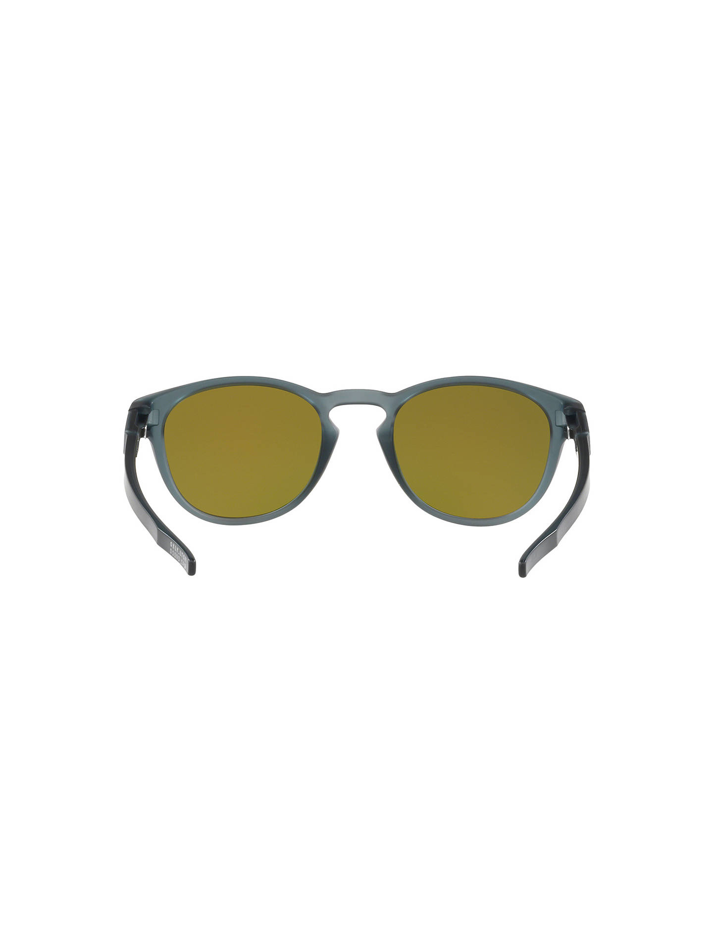 d4703d95ba get buyoakley oo9265 mens latch prizm round sunglasses black mirror red  online at johnlewis. ce948