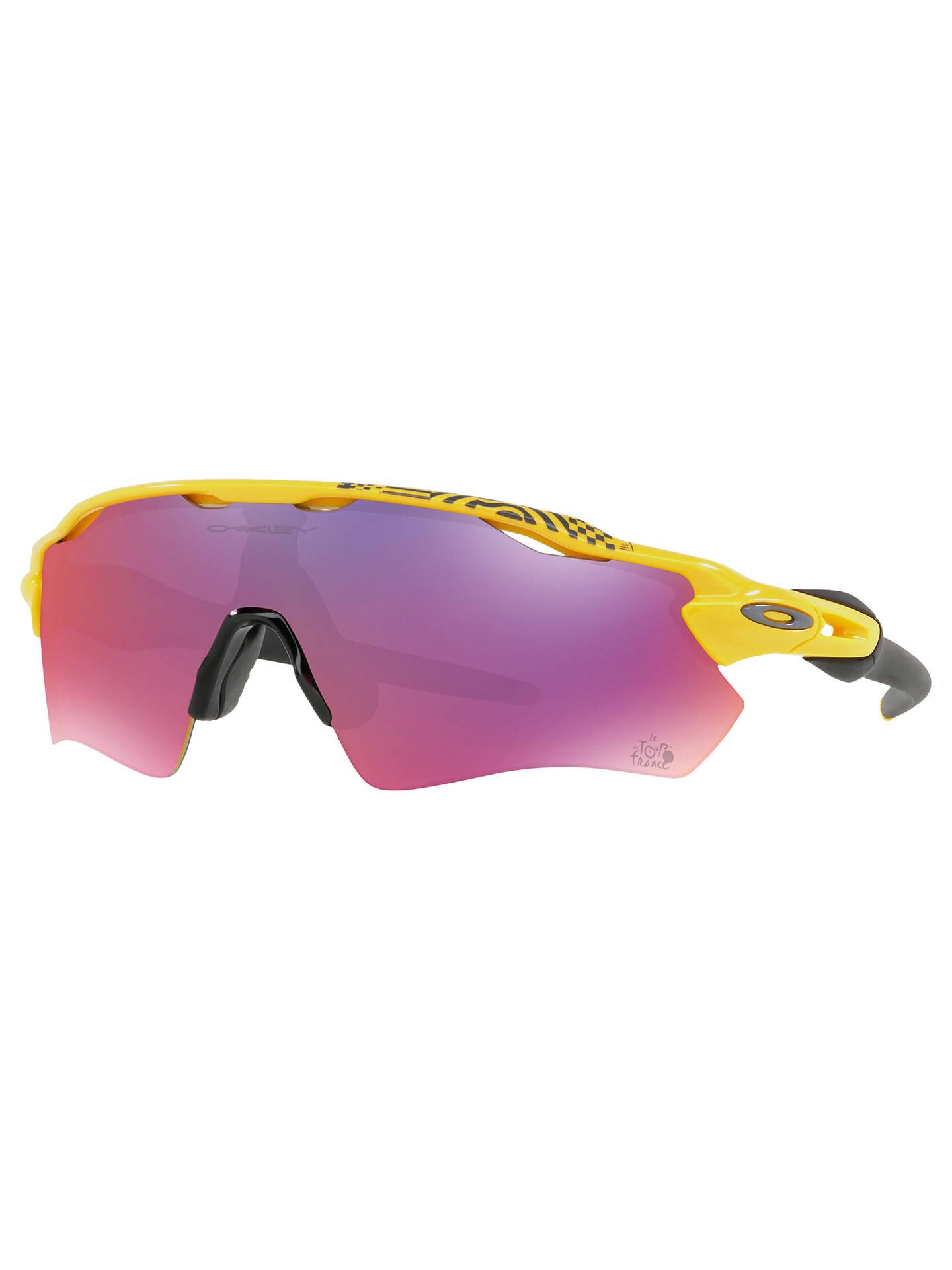 de9f40e201 Oakley OO9208 Radar EV Path Polarised Tour de France Wrap Sunglasses ...
