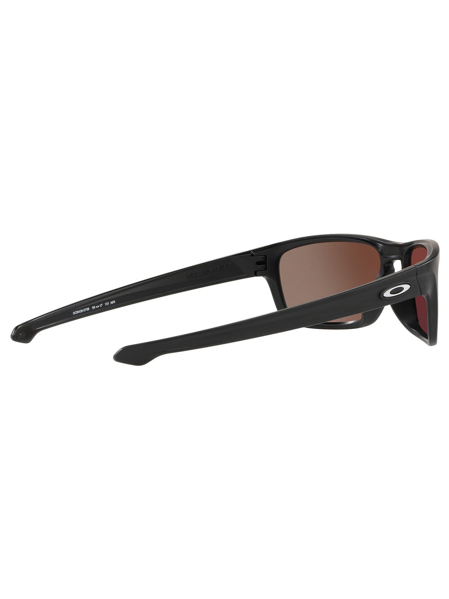 27437e47b0 ... Buy Oakley OO9408 Men s Sliver Stealth Prizm Polarised Rectangular  Sunglasses