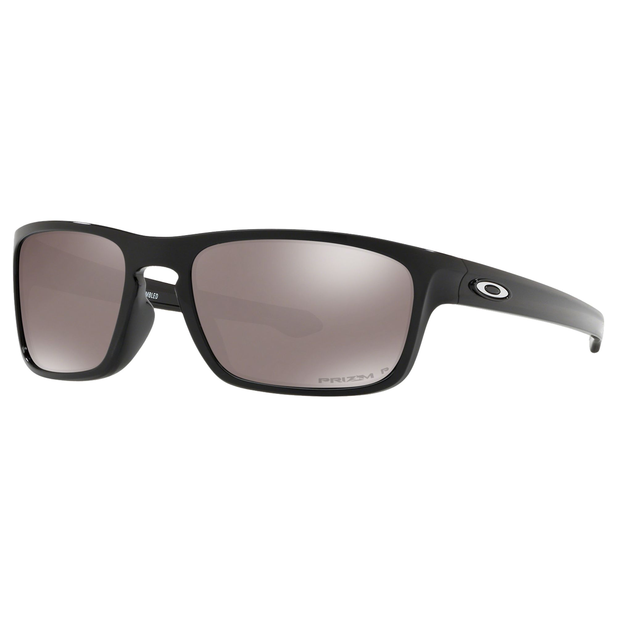 42827bd3f41f Oakley OO9408 Sliver Stealth Men's Polarised Sunglasses, Prizm Black at  John Lewis & Partners