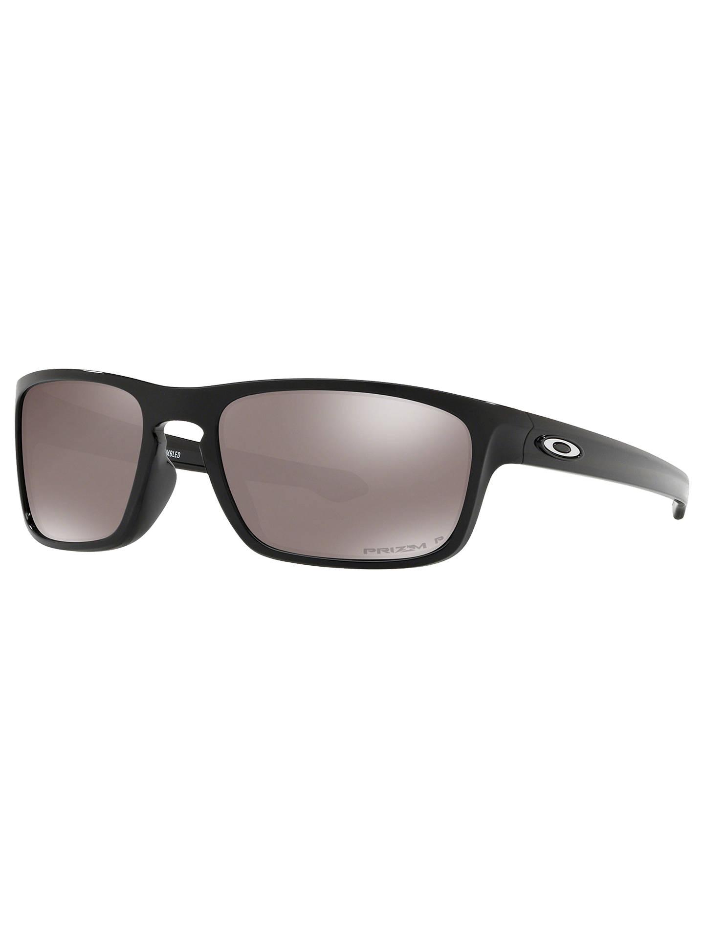 6530784633 Buy Oakley OO9408 Sliver Stealth Men's Polarised Sunglasses, Prizm Black  Online at johnlewis. ...