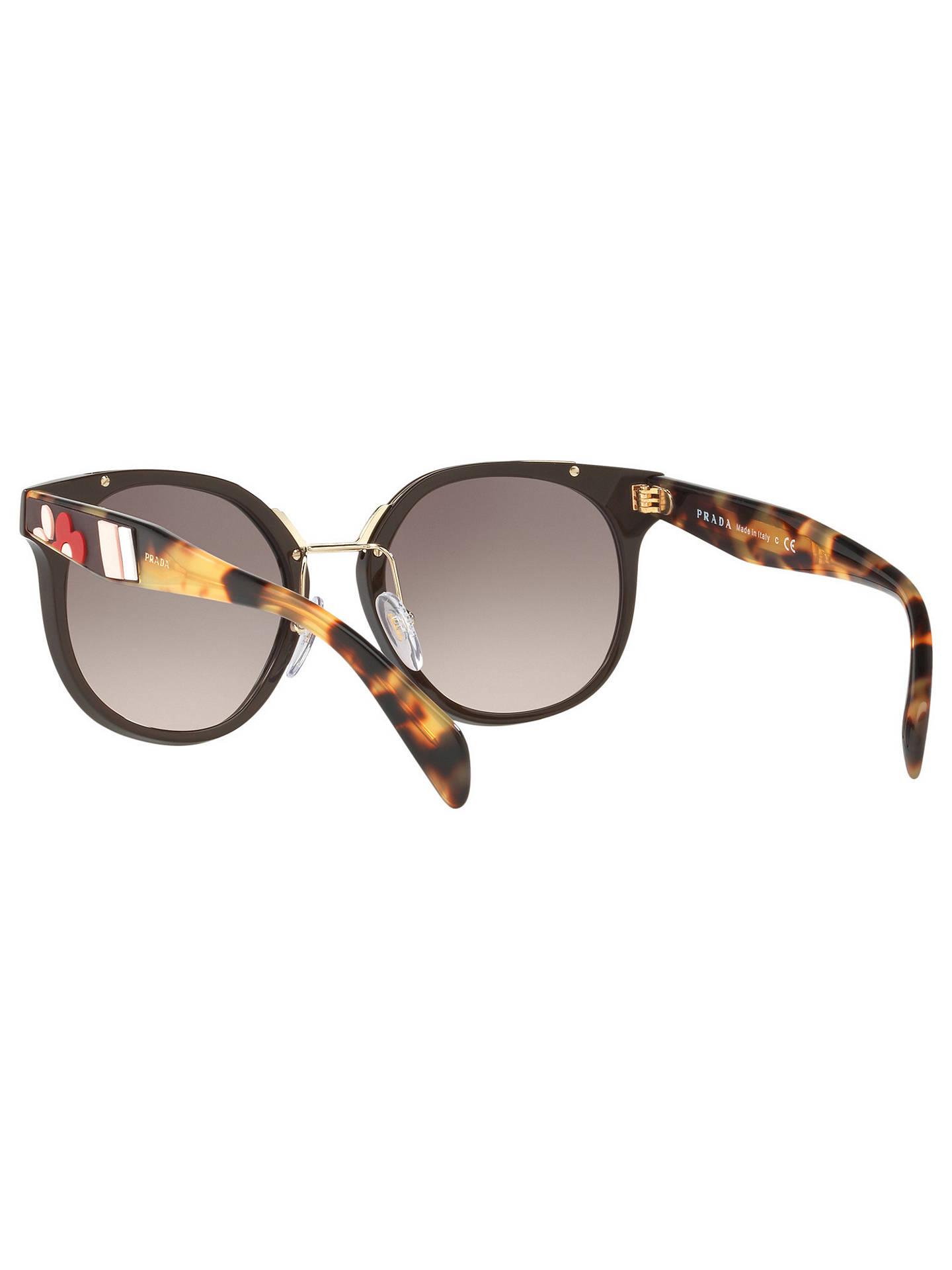 ea0c762b56b ... shop buyprada pr 17ts womens square sunglasses brown pink gradient  online at johnlewis. 2863c 448c8 get prada ...