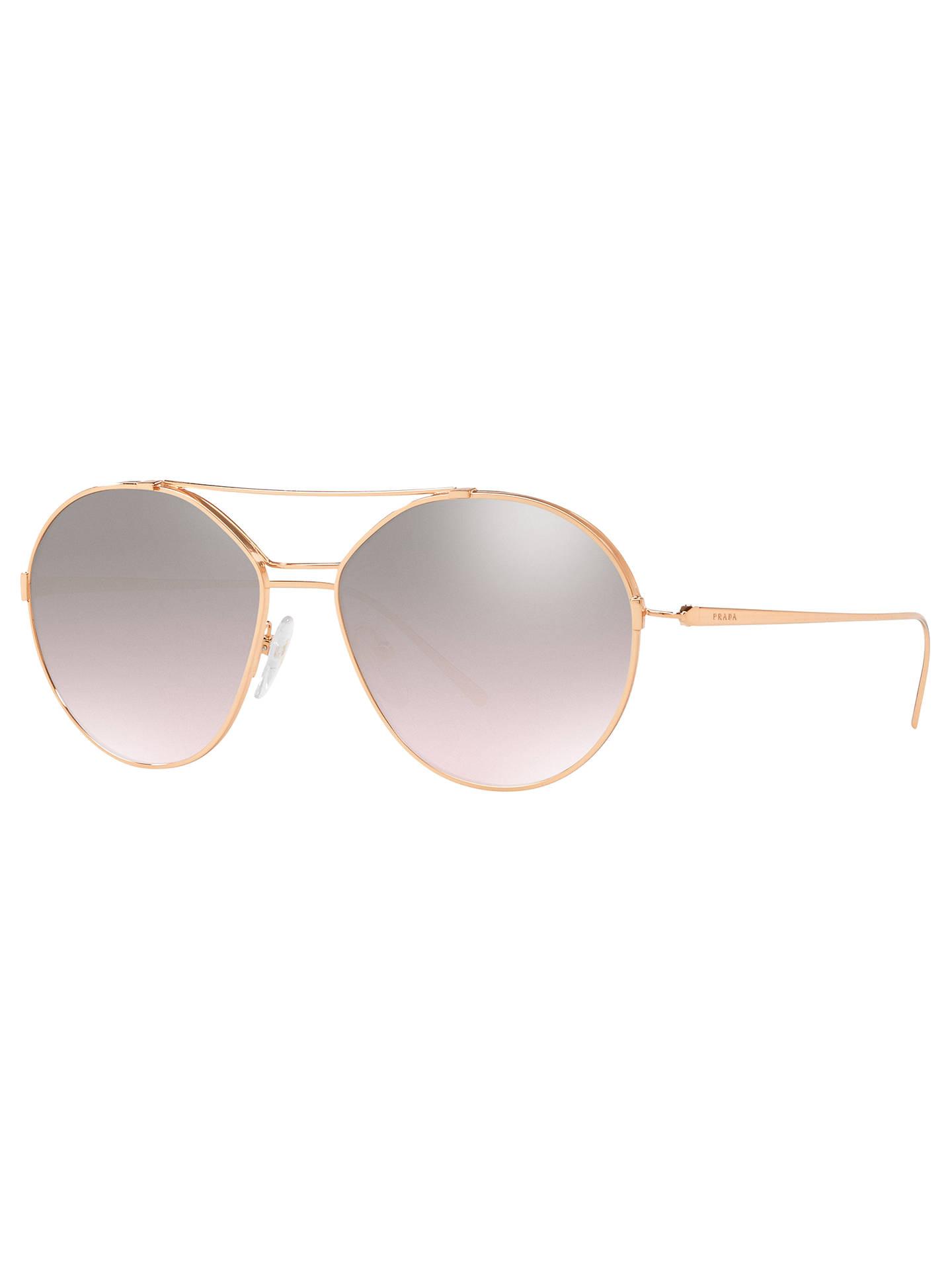 caf71aca43940 Buy Prada 56US Women s Geometric Sunglasses