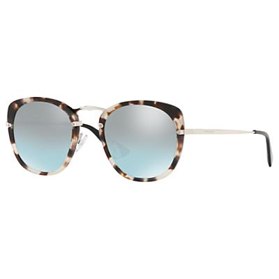 Prada 58US Women's Round Sunglasses