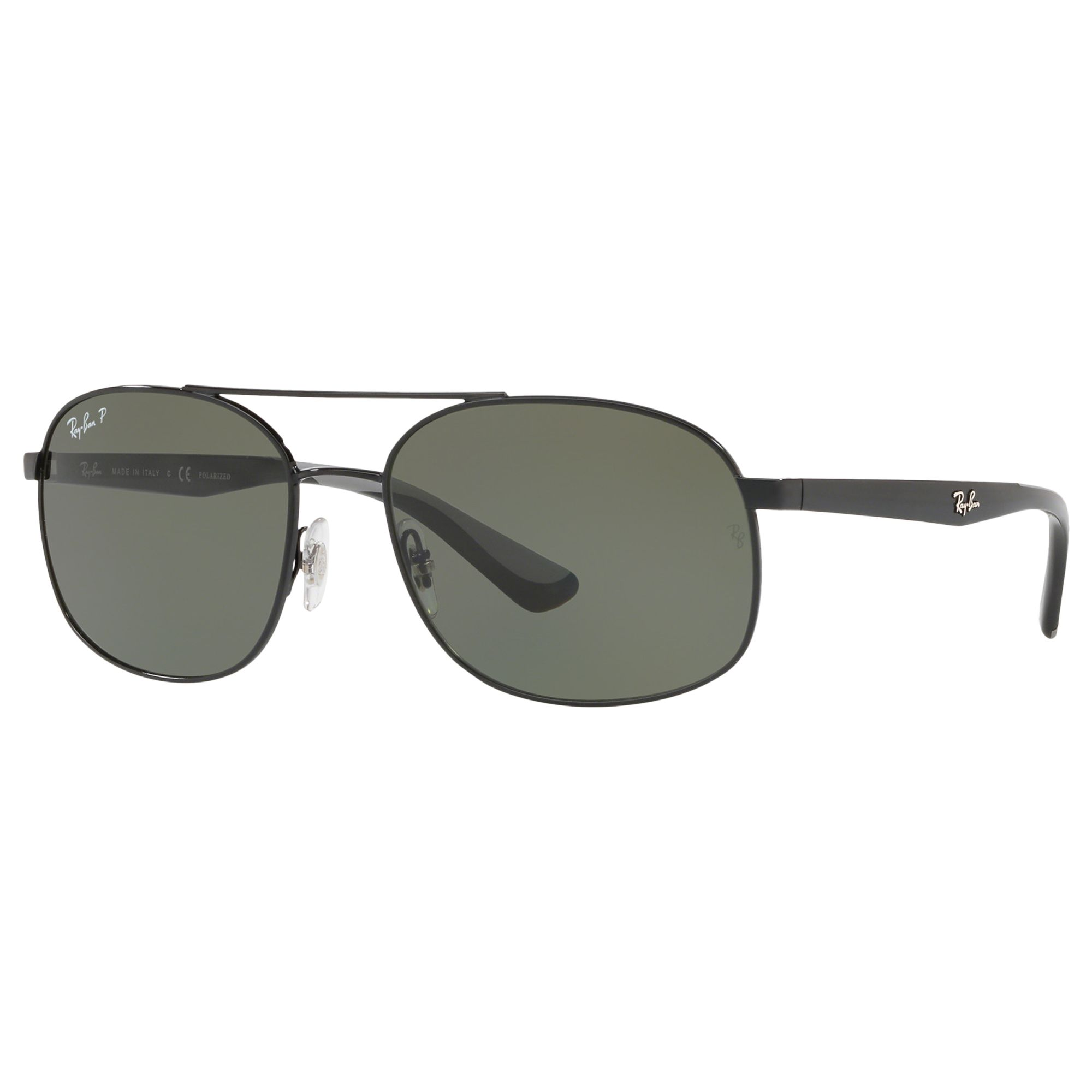 4f20a274a34 Ray-Ban RB3593 Unisex Polarised Oval Sunglasses