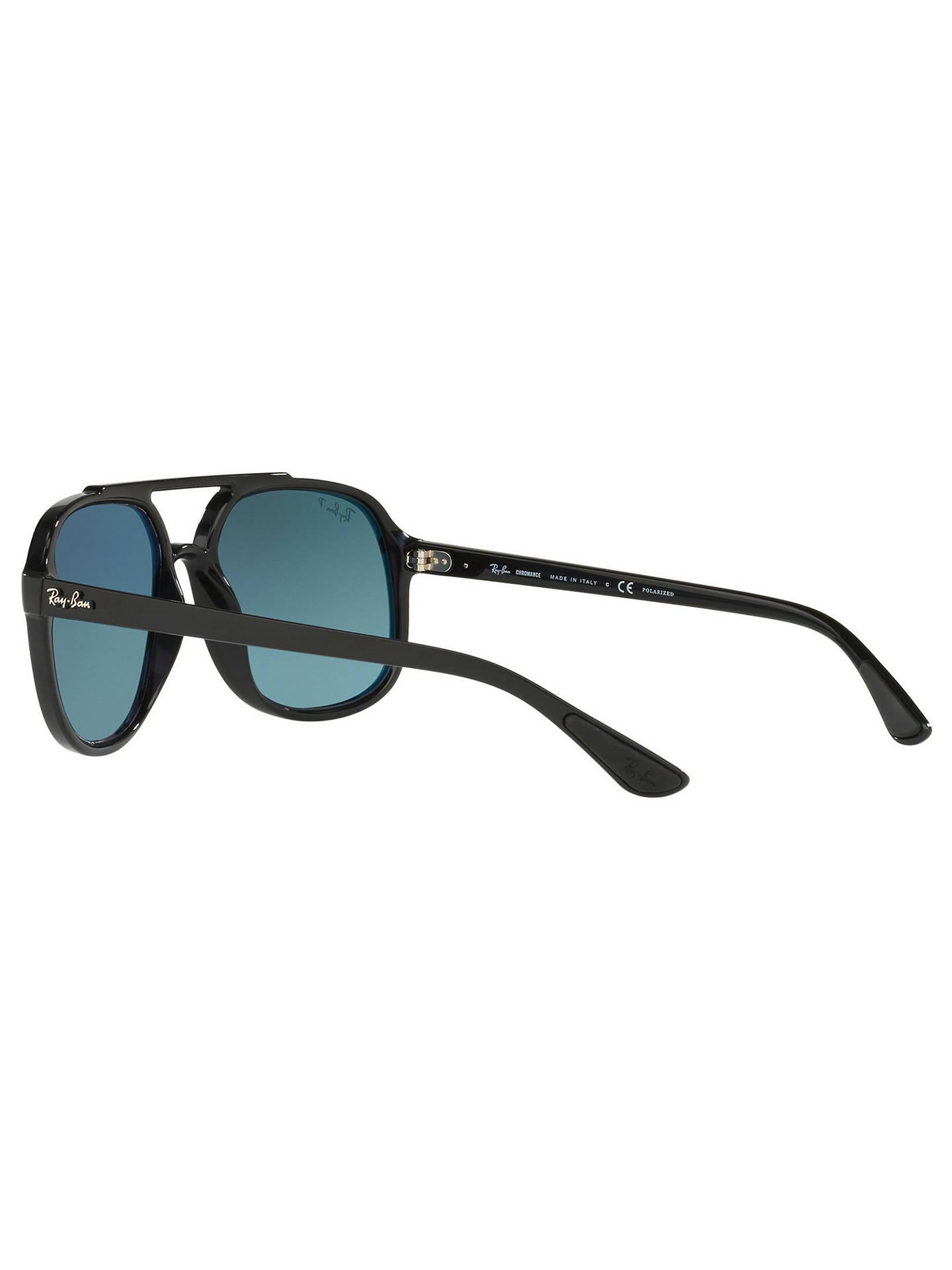 92799944156c6c rayban rb4312 men s square sunglasses black gold performance ...