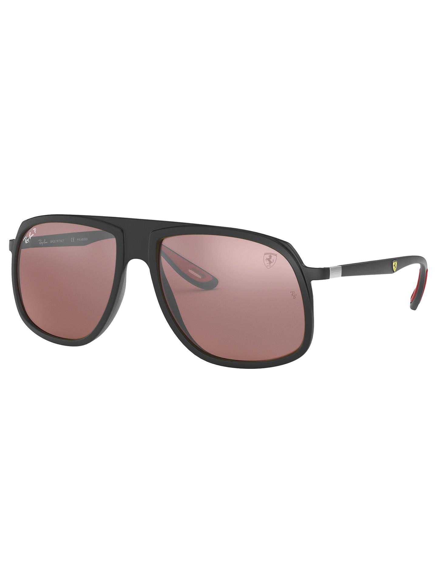 bd7a939481 Buy Ray-Ban RB4308M Men s Scuderia Ferrari Collection Polarised Square  Sunglasses