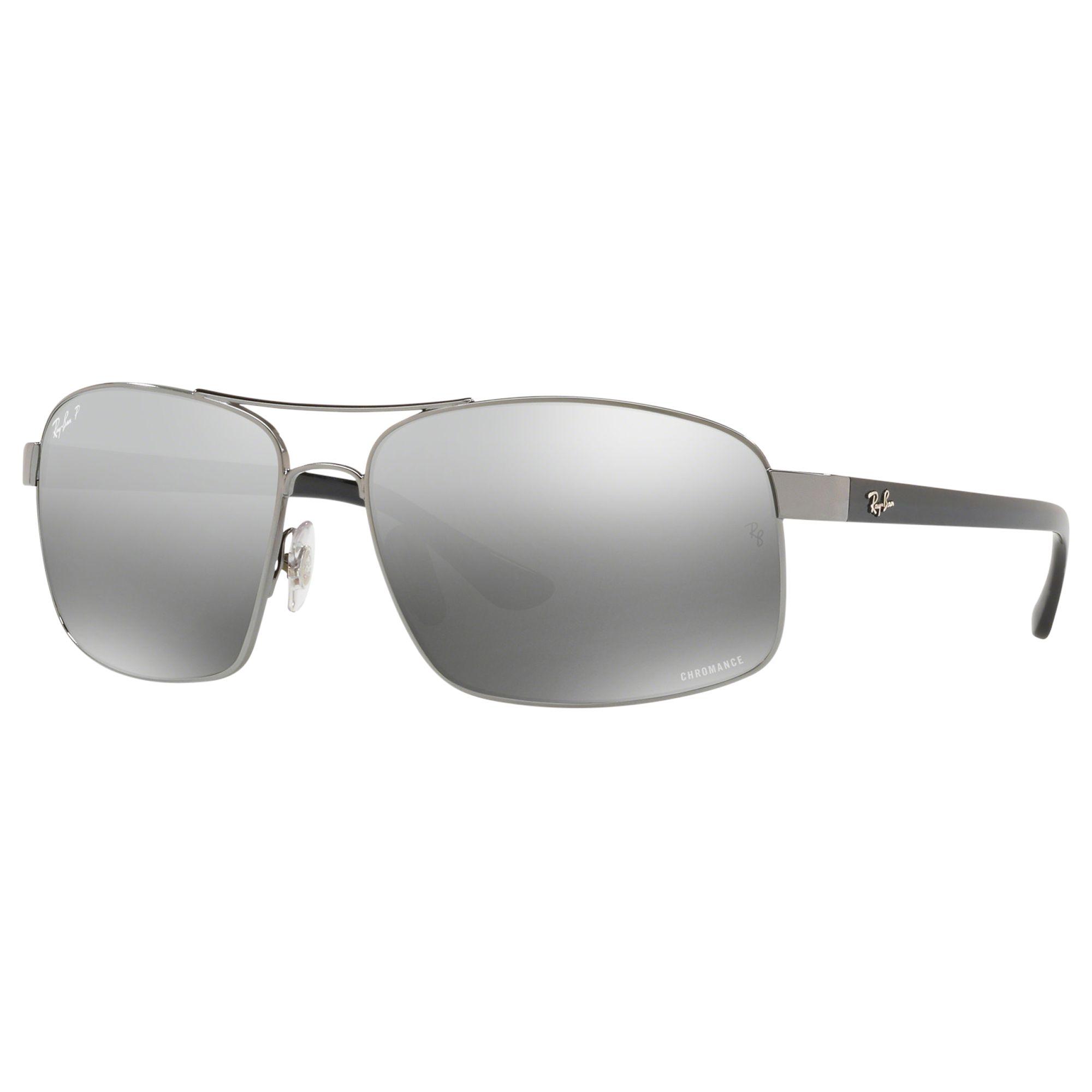 3d221873278 Ray-Ban RB3604 Men s Square Sunglasses
