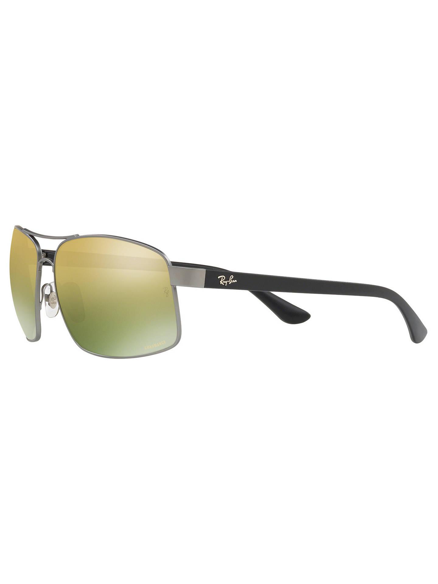 0611606e5cd33e rayban rb3604 men s square sunglasses gold differently a9b15 1c7f7 ...