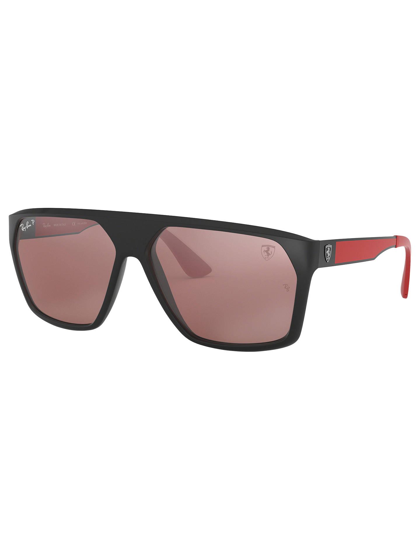 8f0a6c612b Buy Ray-Ban RB4309M Men s Scuderia Ferrari Collection Polarised Square  Sunglasses