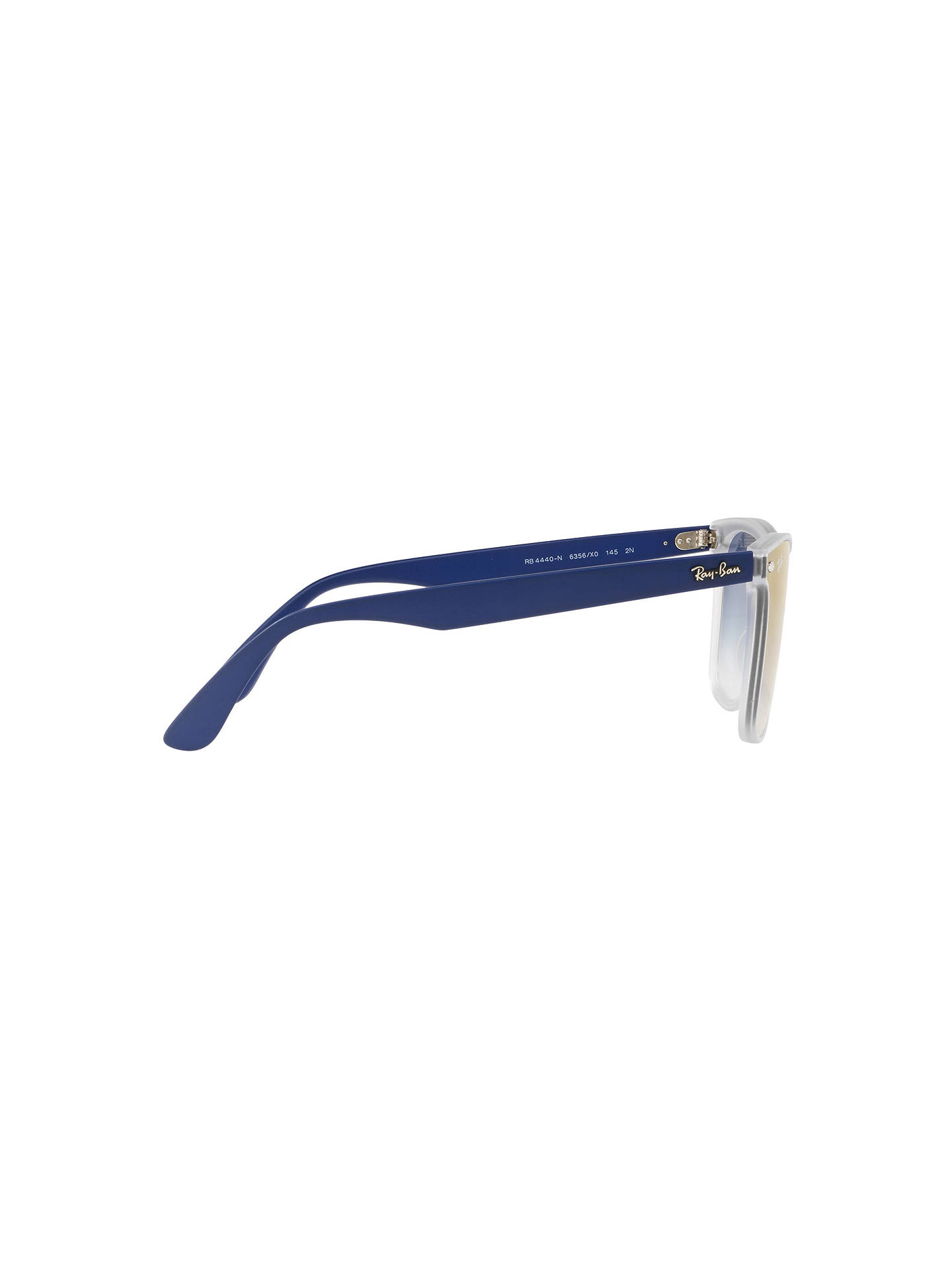 BuyRay-Ban RB4440 Unisex Polarised Mirrored Sunglasses, Blue Online at johnlewis.com