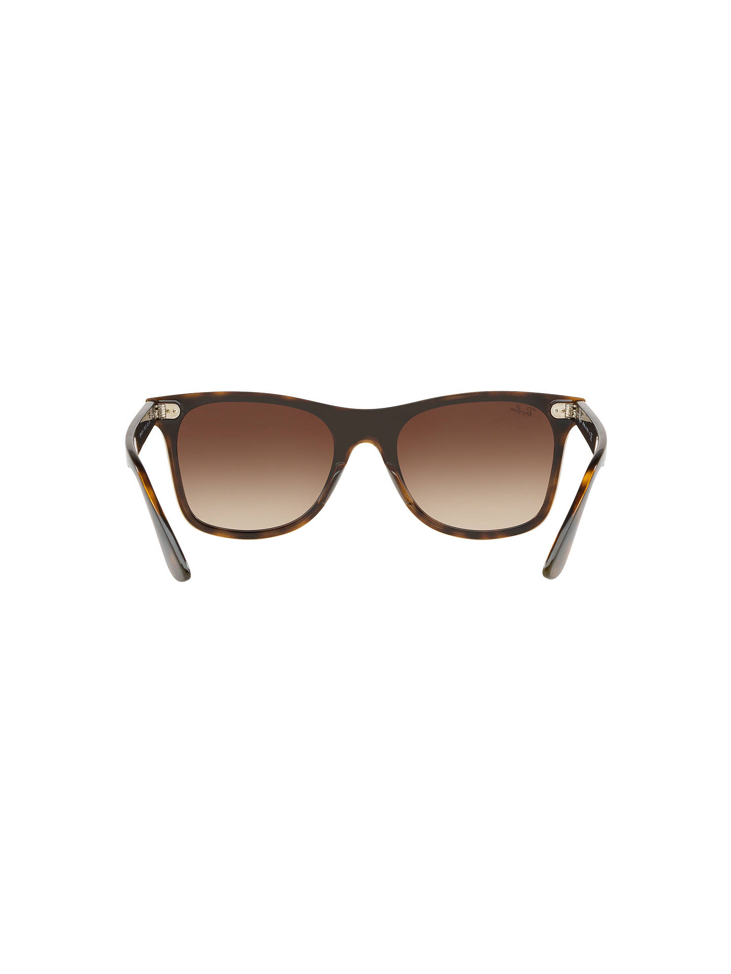 BuyRay-Ban RB4440 Unisex Mirrored Sunglasses, Brown Online at johnlewis.com