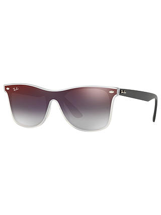 Buy Ray-Ban RB4440 Unisex Mirrored Sunglasses, Red Online at johnlewis.com