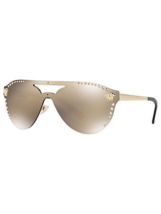 75be38199de71 Versace VE2161B Women s Studded Rectangular Sunglasses