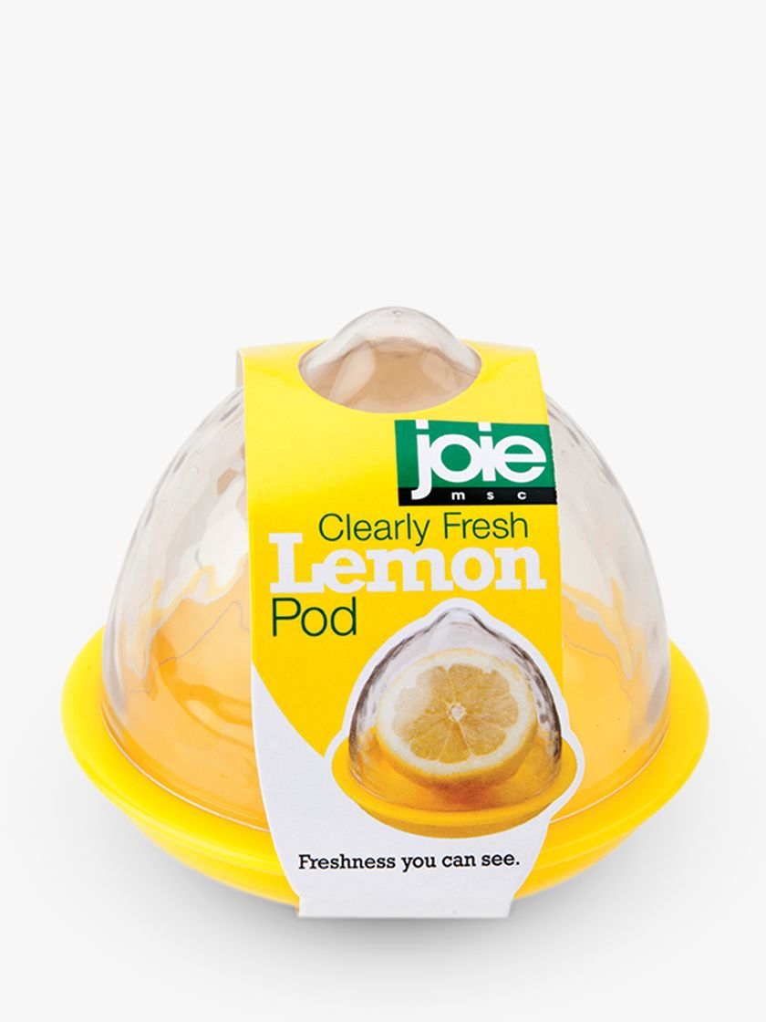 Joie Joie Lemon Storage Pod, Clear/Yellow