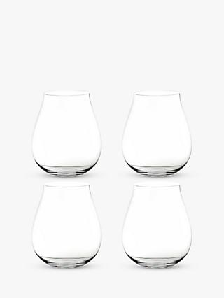 Riedel Stemless It's Always Gin O'Clock Glasses, Set of 4, 762ml