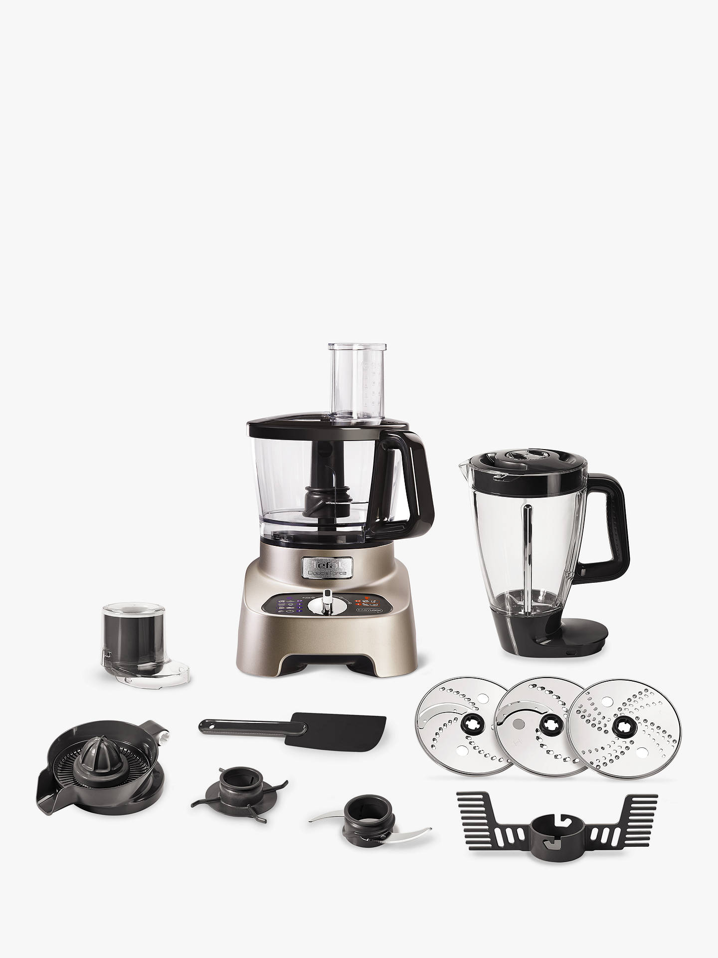 BuyTefal DO824H40 Double Force Pro Food Processor Online at johnlewis.com